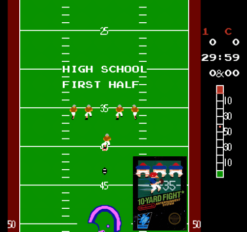 10 Yard Fight (NES)