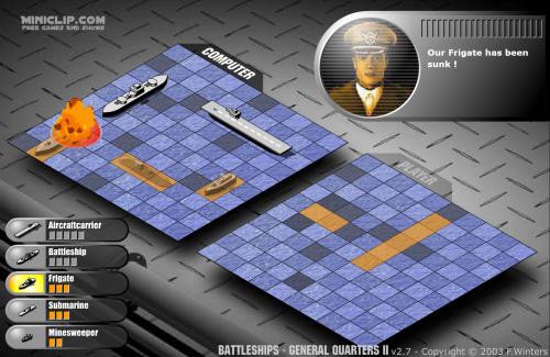 Battleship General Quarters