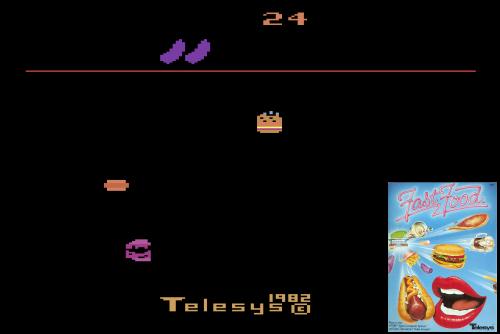 Fast Food (Atari 2600)