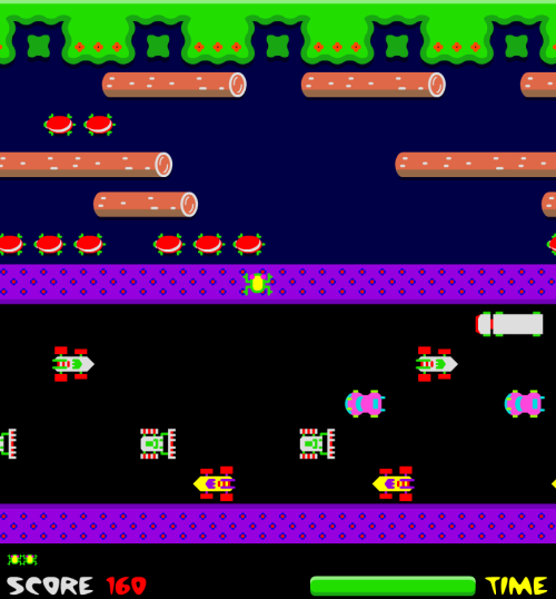 Flash Frogger