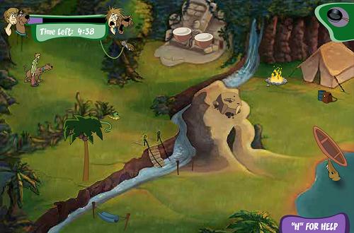Scooby Doo Mayan Monster Mayhem Episode 1 - River Rapids Rampage (6 331 times)