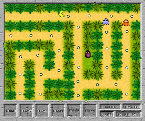 Pac-Man Jungle Adventure