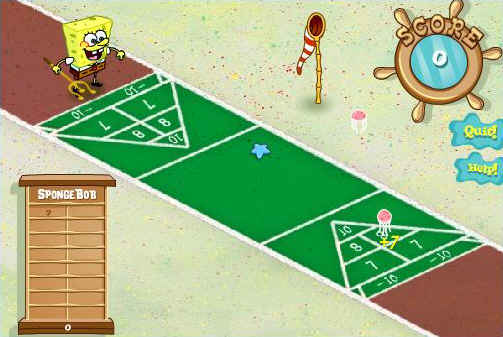 Spongebob Shuffleboard (5 372 times)
