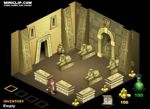 The Pharaohs Tomb