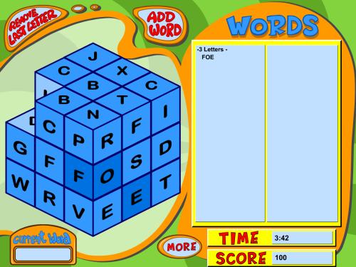 Wordcube